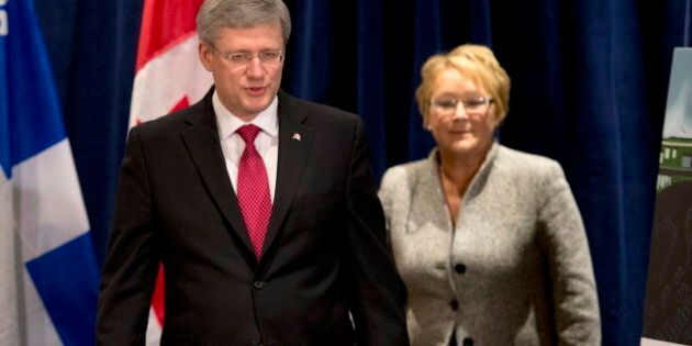 Stephen Harper's Meeting With Pauline Marois Beset By Controversy