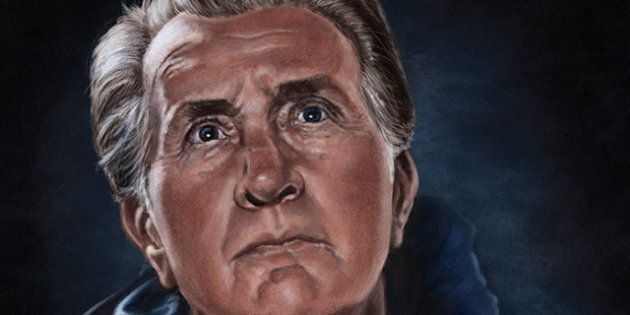 Martin Sheen's Portrait By Alberta Artist Patrick LaMontagne Scooped Up By Emilio Estevez