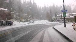 Snow.. In