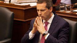 Ontario Liberals Scramble To Avoid Contempt
