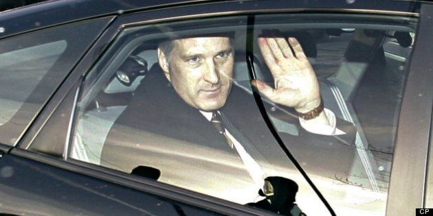 Tory Minister Bernier Caught Driving While