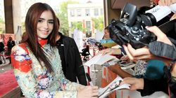 Get Lily Collins' Red Carpet