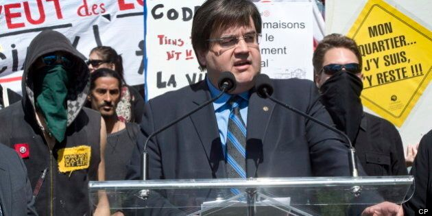 Denis Coderre Montreal Mayoral Campaign Launch Ends With Arrests,
