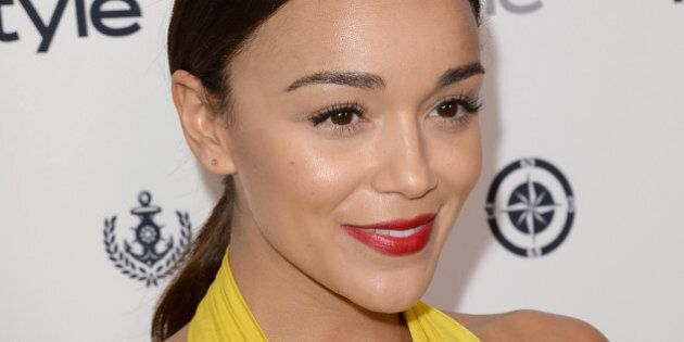 WEST HOLLYWOOD, CA - AUGUST 14: Actress Ashley Madekwe attends the InStyle Summer Soiree held Poolside...