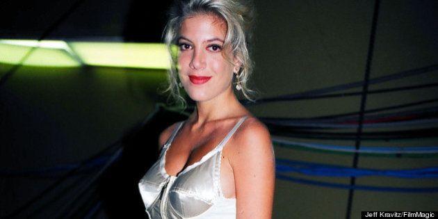 Tori Spelling's Birthday: 'Beverly Hills, 90210' Star's Style Transformation
