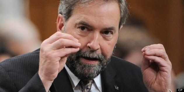Thomas Mulcair Says He Was Once Offered Suspicious-Looking