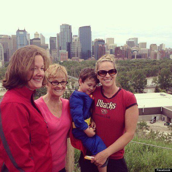 Alberta Kid Superman Is Cutest Hero Of The Floods