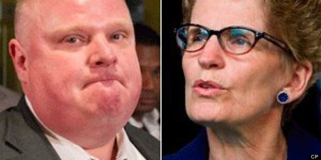 Kathleen Wynne Sorry Relationship With Rob Ford