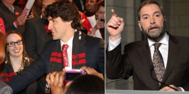 Mulcair vs. Trudeau: Opposition Leader To Stake His Ground Amid Din Of Liberal