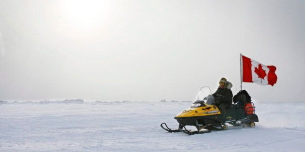 Canadian Forces Test Stealth Snowmobile For Covert Arctic