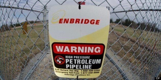 Enbridge West East Pipeline Protesters Arrested In