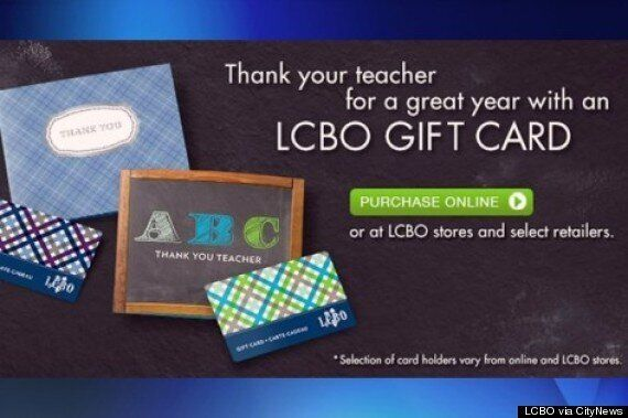 LCBO Targeting Kids? Parents Wary Of Gift-Card-For-Teacher