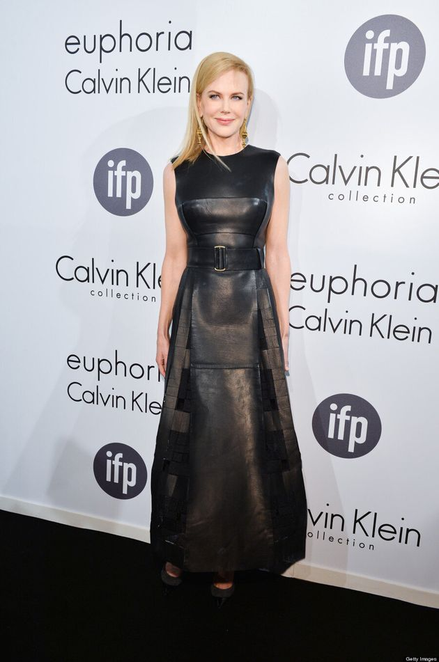 Nicole Kidman At Cannes 2013: Tom Cruise's Ex Takes Sexy Turn In Leather Dress