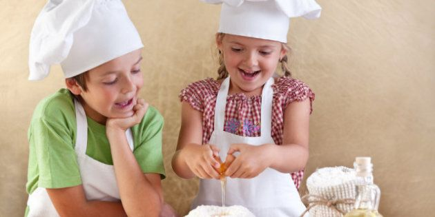Cooking For Kids: Never Too Early To Teach Kids To