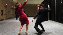 WATCH: Trudeau, Wife Dance Before