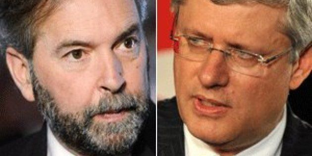 Prorogation Shows Harper Afraid Of Questions, Mulcair