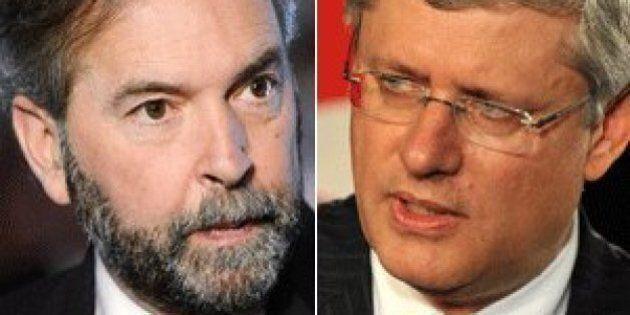 Mulcair: Harper Prorogation Shows PM Afraid Of
