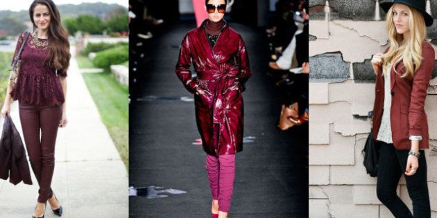 Fall Fashion 2012: How To Incorporate Oxblood Or Burgundy Into Your