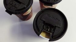 Tim Hortons Offers Solution To Pesky Lid