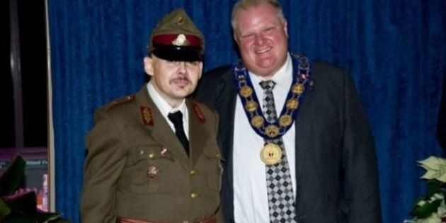 Rob Ford Neo-Nazi Photo: Toronto Mayor Issues Statement Explaining