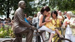 LOOK: Layton Statue