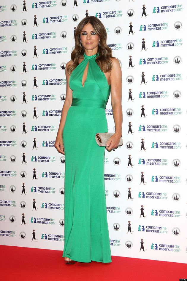 Elizabeth Hurley Wows In Kate Middleton's Favourite Designer