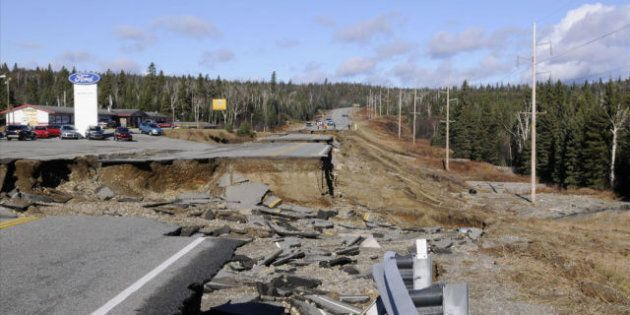 Wawa Flooding: Trans-Canada Highway To Partially Reopen After Deluge Washed Away