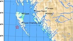 Big Earthquake Shakes B.C.