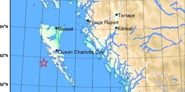 BC Earthquake Hits Haida Gwaii, Tsunami Warning