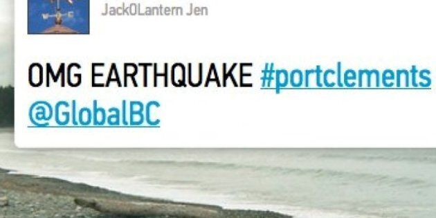 BC Earthquake: Twitter Reports, Reactions On Quake And Tsunami