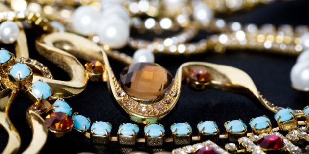 beautiful jewelry on