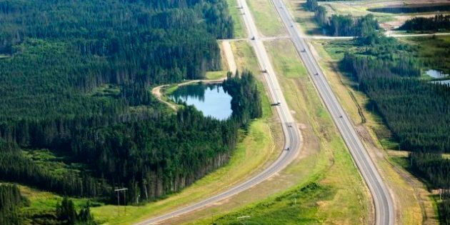 Idle No More: Alberta Highway 63 Blockade Near Fort McMurray By First Nations