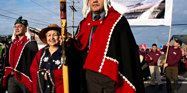 Coastal First Nations Quit Northern Gateway Pipeline
