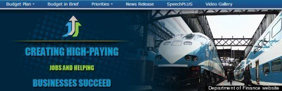 Harper Conservatives Deny They Wanted GO Trains To Turn Blue In Promo Photo