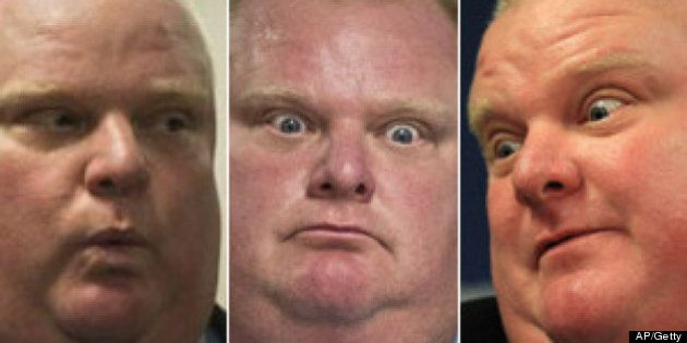 Best Rob Ford Photos From The Crack