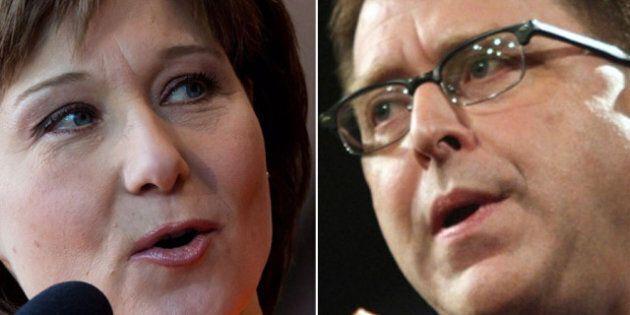 BC Election Debate: Christy Clark Challenges Adrian