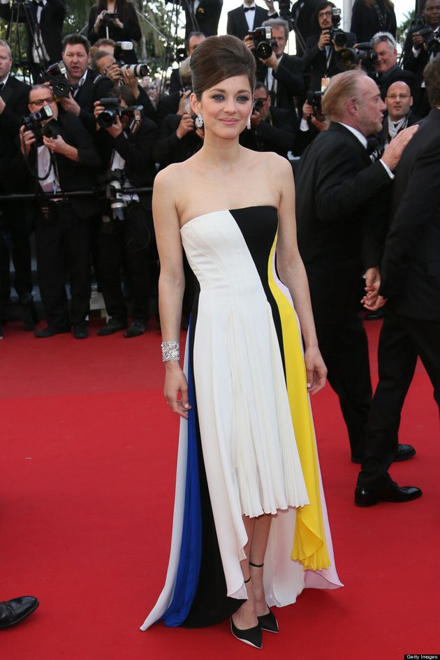 Marion Cotillard's Cannes 2013 Gown Similar To Jessica Biel Dress
