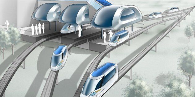 Magline Transit Would Create 45 Minute Commute From Calgary To