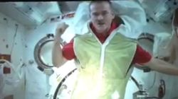 WATCH: Chris Hadfield Sleeping In