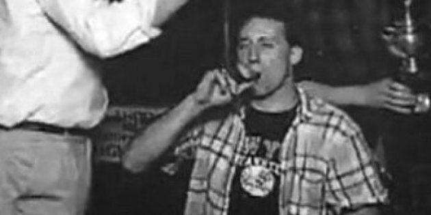 Peter MacKay Beer Bong Photo Tweeted By Rick Mercer After Trudeau Pot