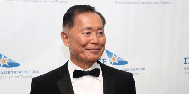 NEW YORK, NY - APRIL 29: Actor George Takei attends the National Corporate Theatre Fund 2013 Chairman's...