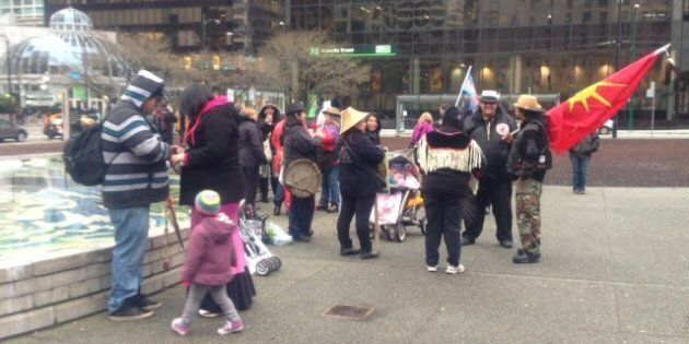 Idle No More BC Protests Spread Across