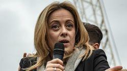 Giorgia Meloni a Mezz'ora in più: