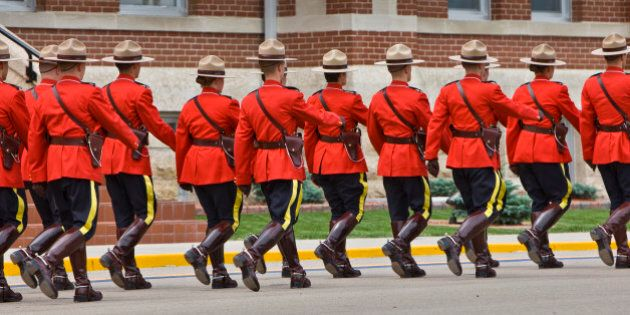 Sergeant Major's Parade and graduation ceremony at the RCMP Academy, Regina, Saskatchewan,