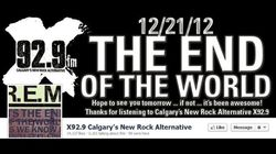 Radio Station Marks End Of The World By Playing R.E.M. song All