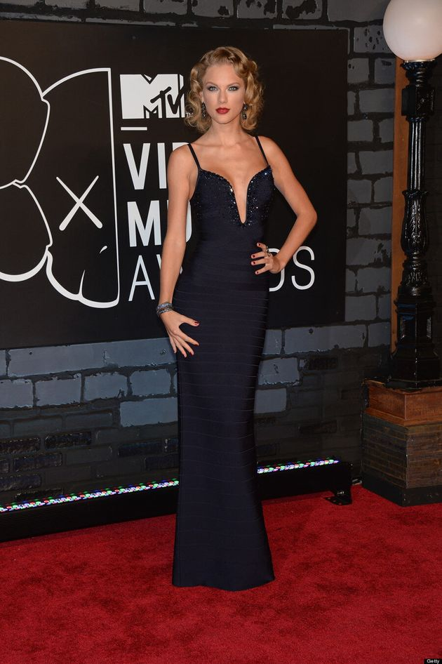 Taylor Swift Goes Old Hollywood At The 2013 MTV VMAs