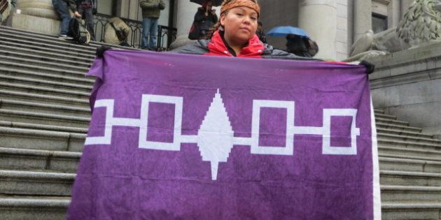 Idle No More Vancouver Protest Draws Over 100
