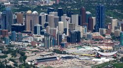 12 Days After Flood, Downtown Calgary Finally Does
