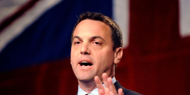 JUNE 27, 2009 - Tim Hudak speaks after he wins the PC Party of Ontario leadership this afternoon. (Photo...