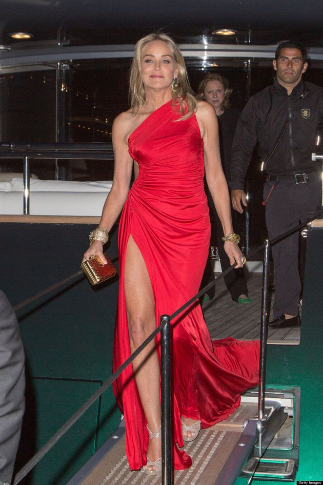 Sharon Stone Sideboob: Cannes 2013 Outfit Reveals A Lot Of Leg